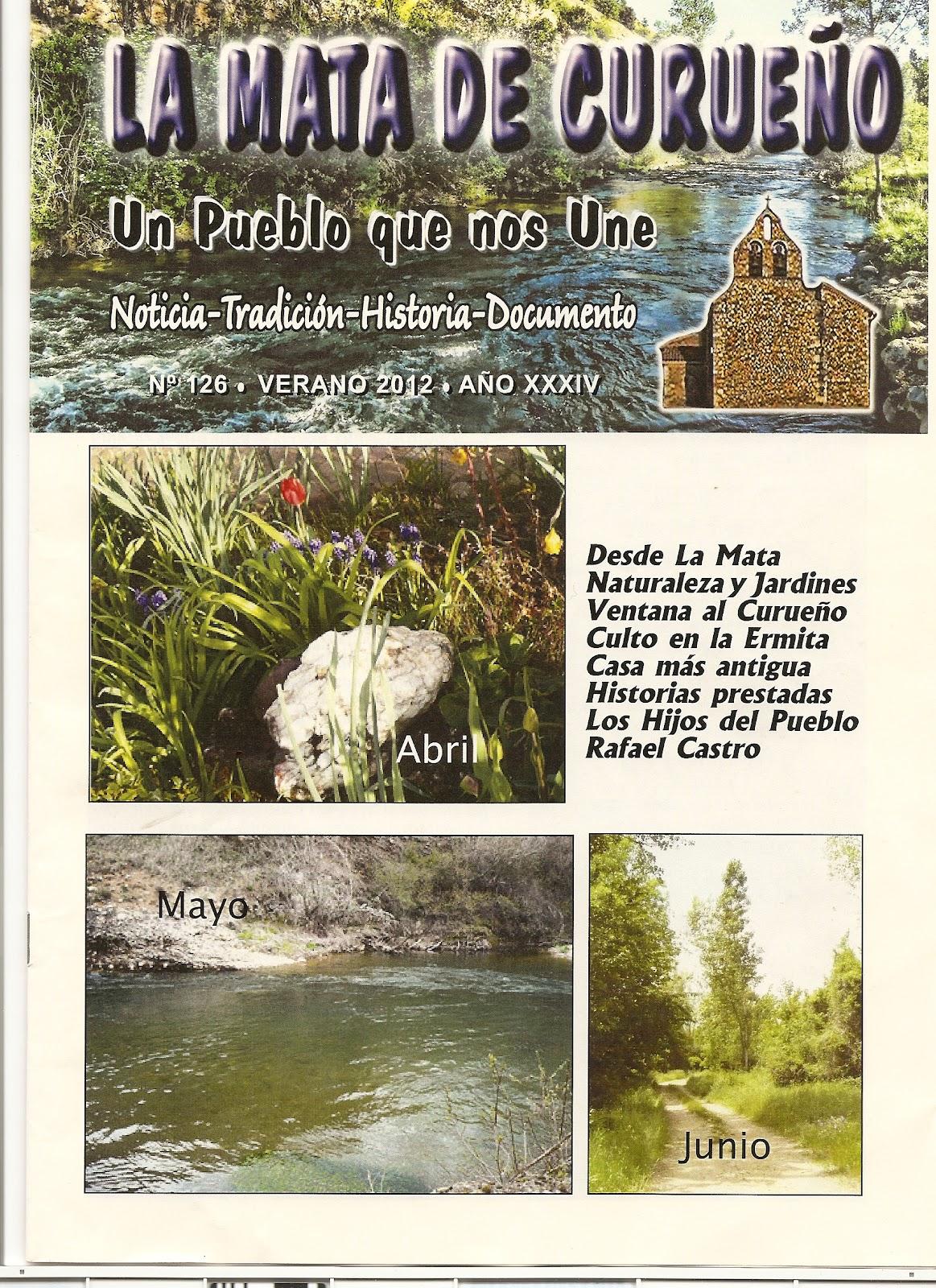 Boletin 126 - Portada - Primavera 2012 por La Mata de Curueño (León)