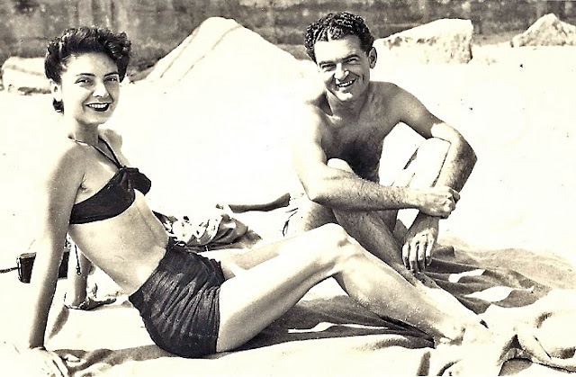 My Glamorous Grandparents :: Circa 1930 :: Cannon Beach, Oregon