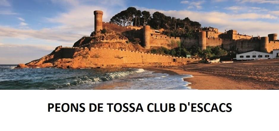 Peons de Tossa, Club d'Escacs