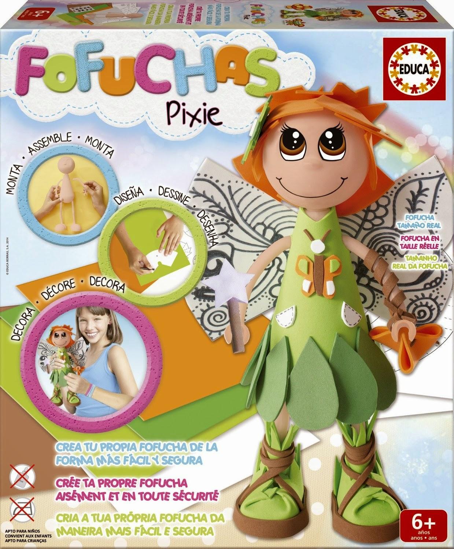 Fofucha Educa Borras Pixie Ninfa del Bosque