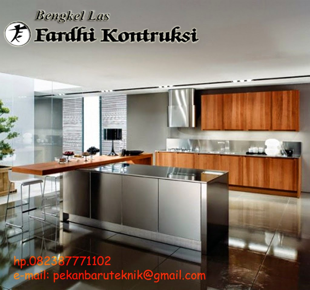 Bengkel Las Murah Pekanbaru Kitchen Set,Rak-rak,dan Lemari Stainless on kitchen set kecil, kitchen set sederhana, kitchen set jual, kitchen set mewah,