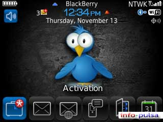 TwitterBerry - BlackBerry Theme