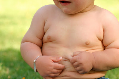 Obesity can already be detectable at 6 month old baby