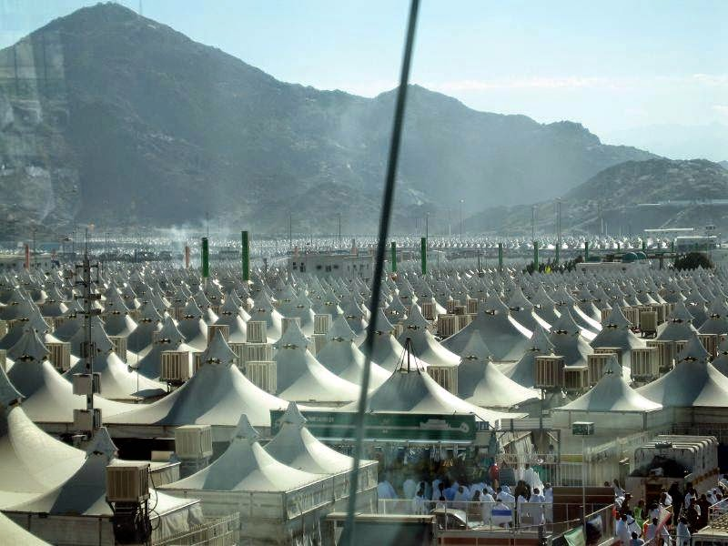 Mail2Day: Tent City  Mina Saudi Arabia 10 pics