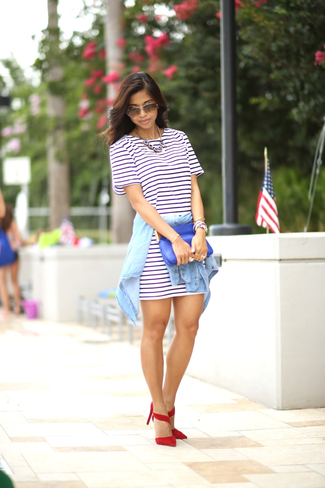 Americana Classic Stripes Outfit