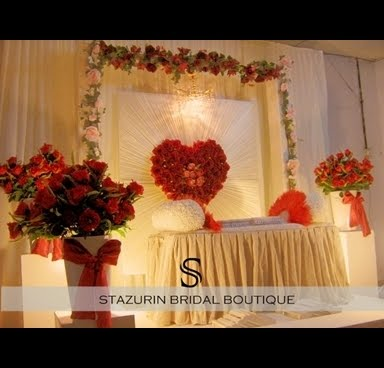 That Some Form Can Be Elaborated On The Theme Of Wedding Was So Special With Ideas Red And White