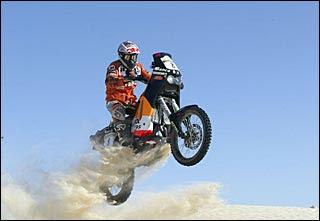 CARLO DE GAVARDO -  Rally Dakar -  DOCTOR SONRISAL