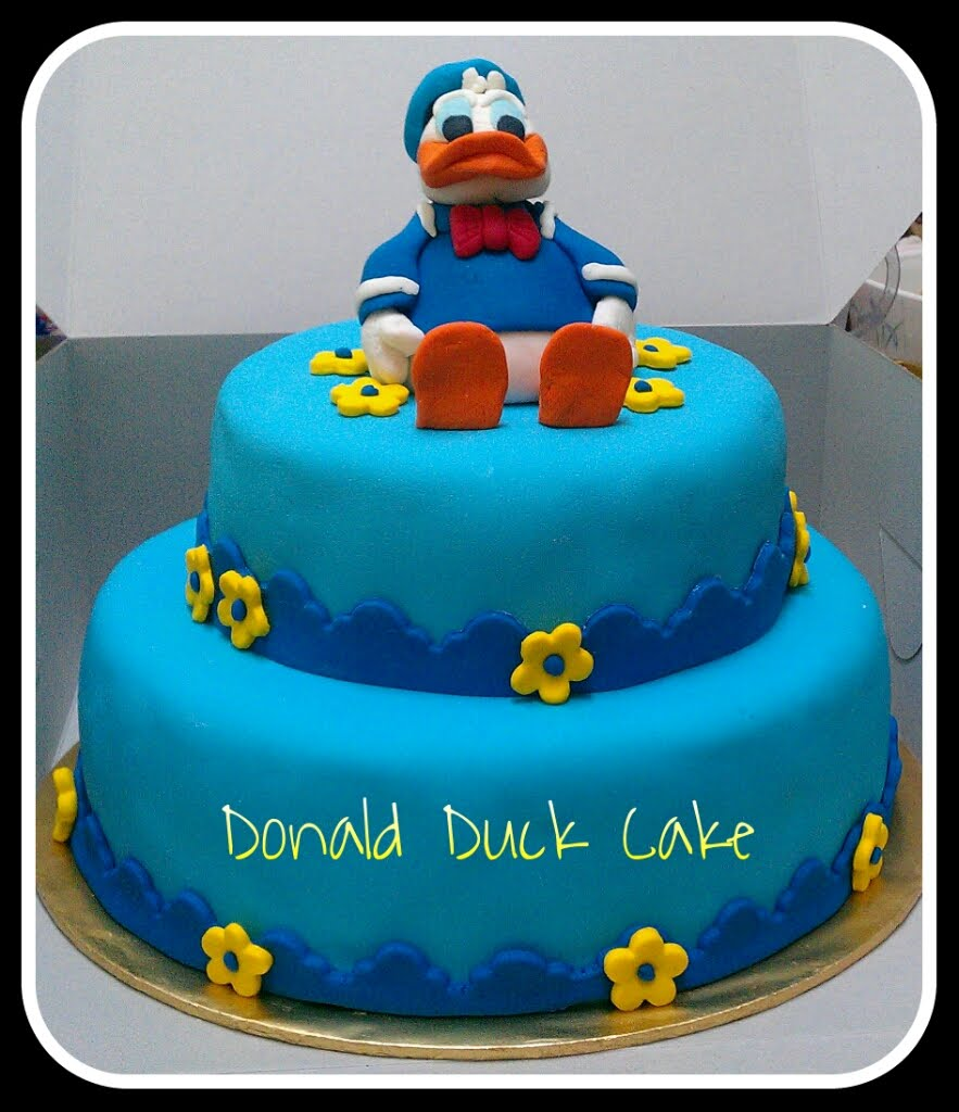 Zairie Homemade Delights 3d Donald Duck Cake