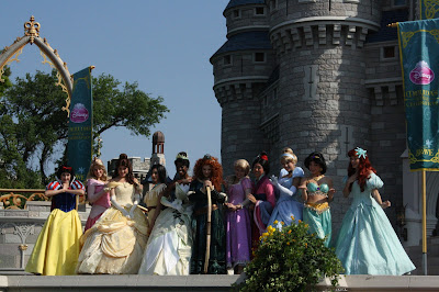 Princess Merida Coronation at Disney World photo by Melanie Sheridan
