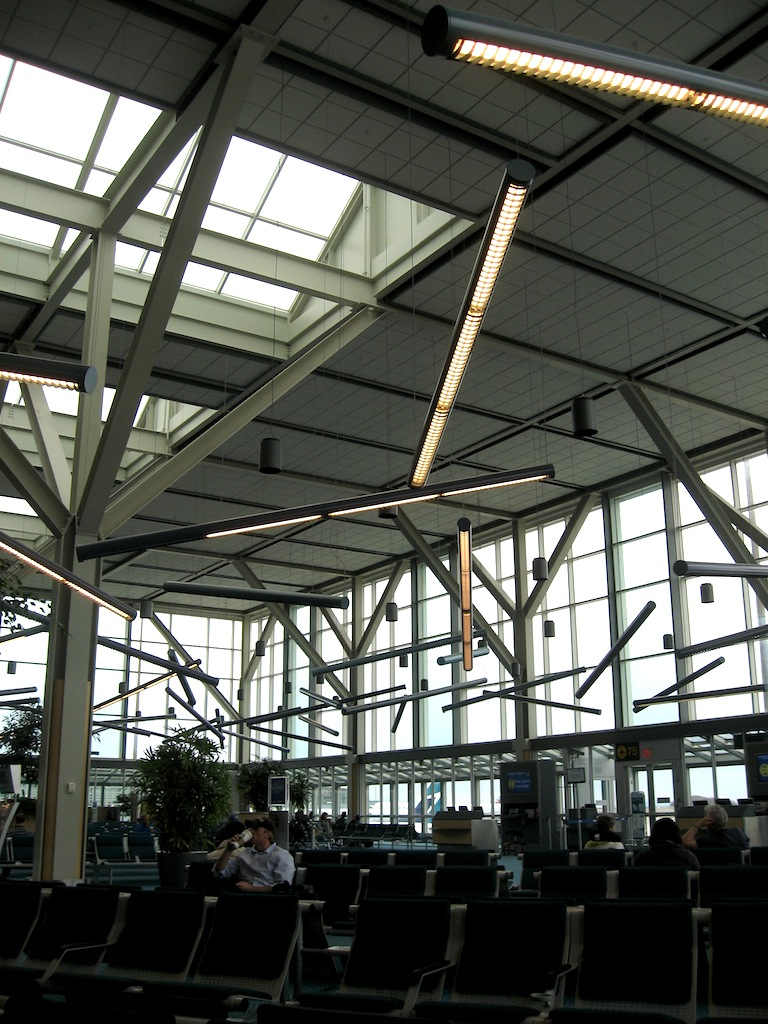 Vancouver Airport, Gate 76.