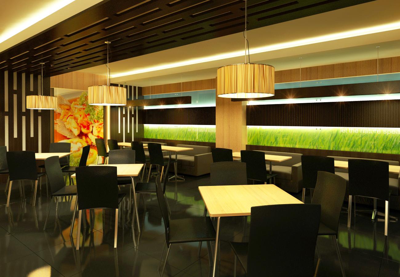 Desain Interior Cafe