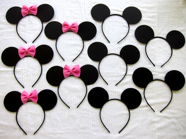 Mickey mouse birthday hairbands