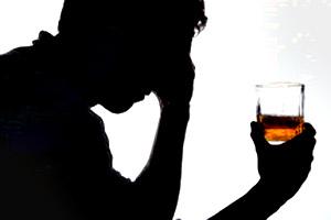 Alcoolismo não de um chiste