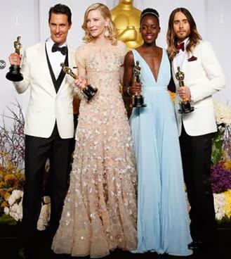 oscar, actor, actriz, ganadores, lupita, jared, leto, Blanchett, McConaughey