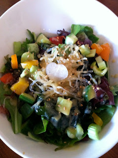The Beach Salad from Rice Manhattan Beach