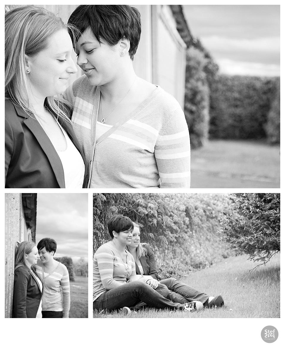 photographe couple noir et blanc