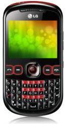QWERTY Dual SIM Mobile LG C310