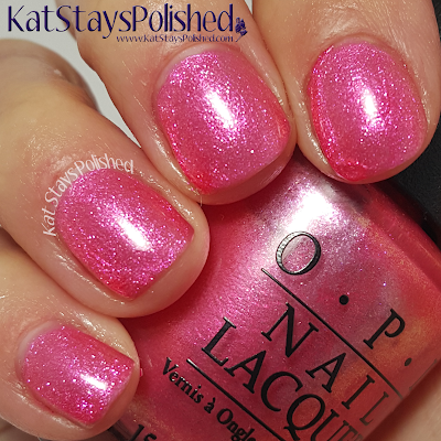 OPI Brights - Can't Hear Myself Pink | Kat Stays Polished