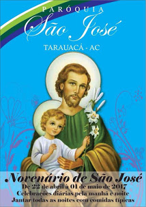 Novenário de São José, clique aqui e acompanhe