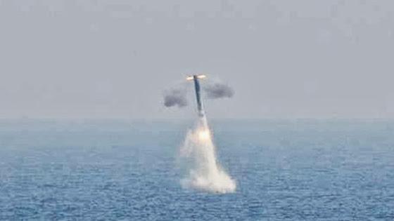 Submarine launched BrahMos