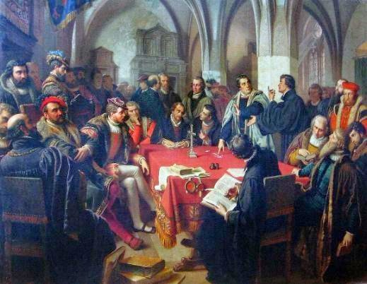 The point of departure for Luther's understanding of the Eucharist (Sasse)