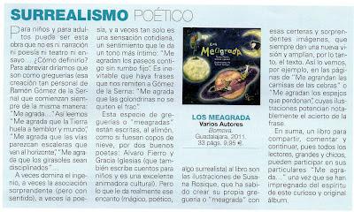 Gracia Iglesias, Álvaro Fierro, Susana Rosique, editorial Bornova, Ballena de Cuentos, Los Meagrada, revista Leer