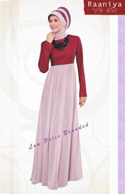 Moslem dress code raaniya design baju pesta untuk Baju gamis nevada