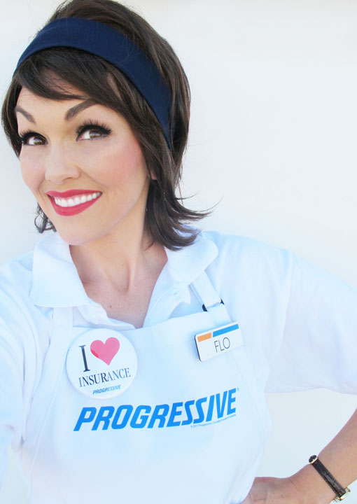 Naked Pictures of Flo Progressive http://www.kandeej.com/2011/10/how-to-look-like-flo-progressive-lady.html