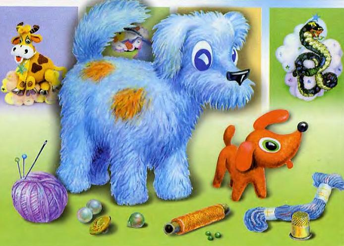 выкройки и описания из книги В.И. Петуховой и Е.Н. Ширшиковой «Мягкая игрушка»