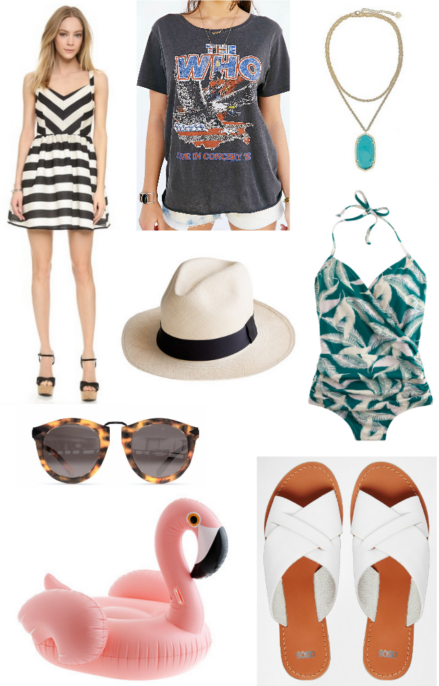 shopping for summer pieces