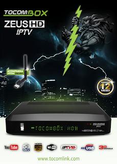 Atualizacao do receptor Tocombox Zeus IPTV V