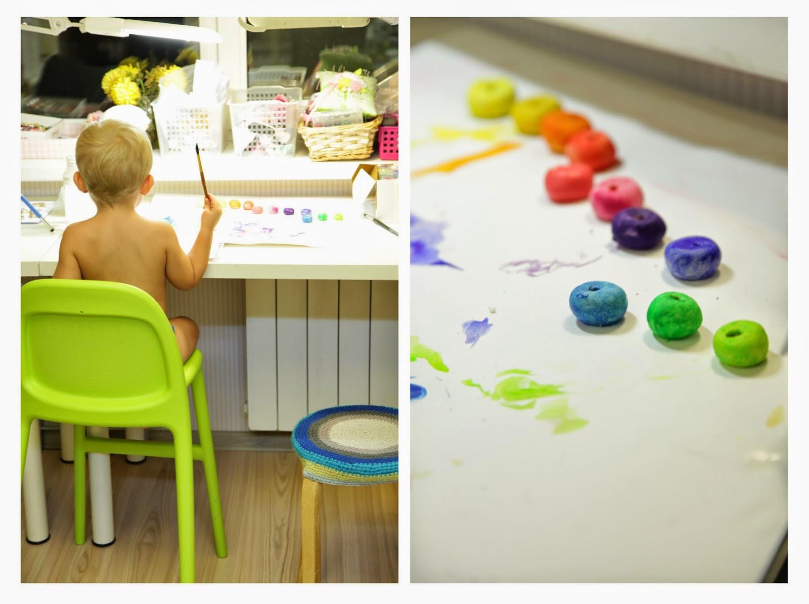Как рисовать с ребенком?