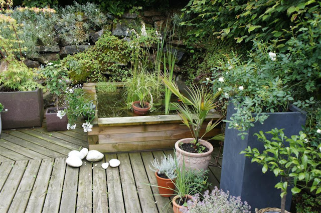 Sous le ciel ardennais marie no au jardin - Coin detente petit jardin zen ...