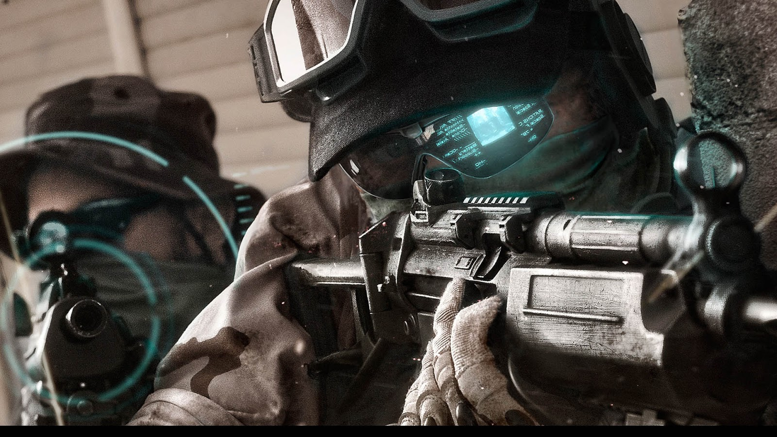 Ghost Recon Future Soldier HD & Widescreen Wallpaper 0.0508355044573925