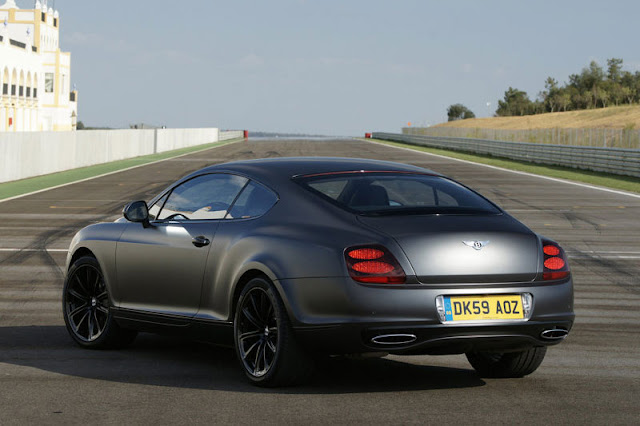 2010 Bentley Continental Supersports Back Exterior