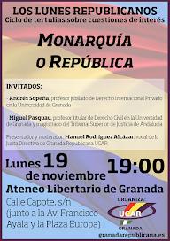 Monarquía o República