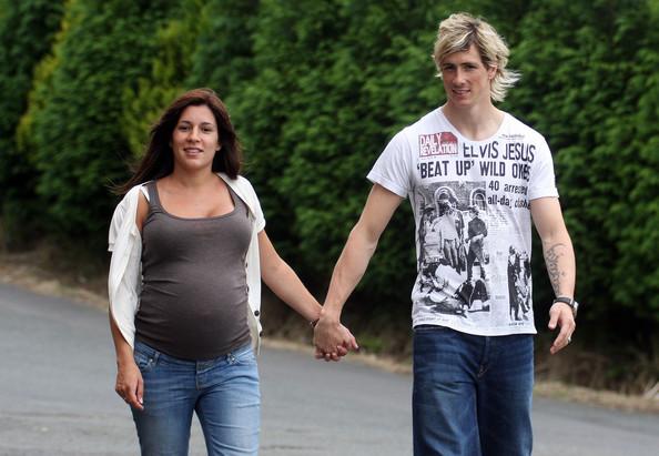 Fernando Torres Wife Olalla Dominguez 2013
