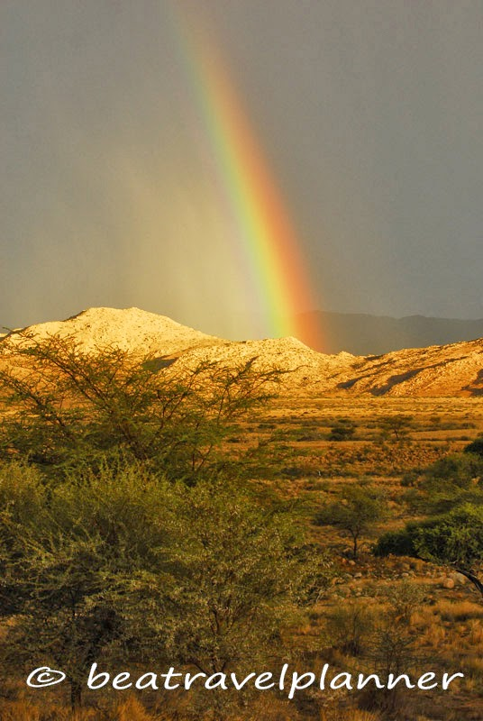Rainbow - Solitaire - Namibia