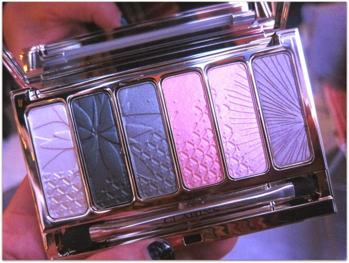 Clarins Spring 2015 Garden Escape Beauty Collection Eyeshadow Palette
