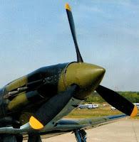 винт и капот двигателя МиГ-3