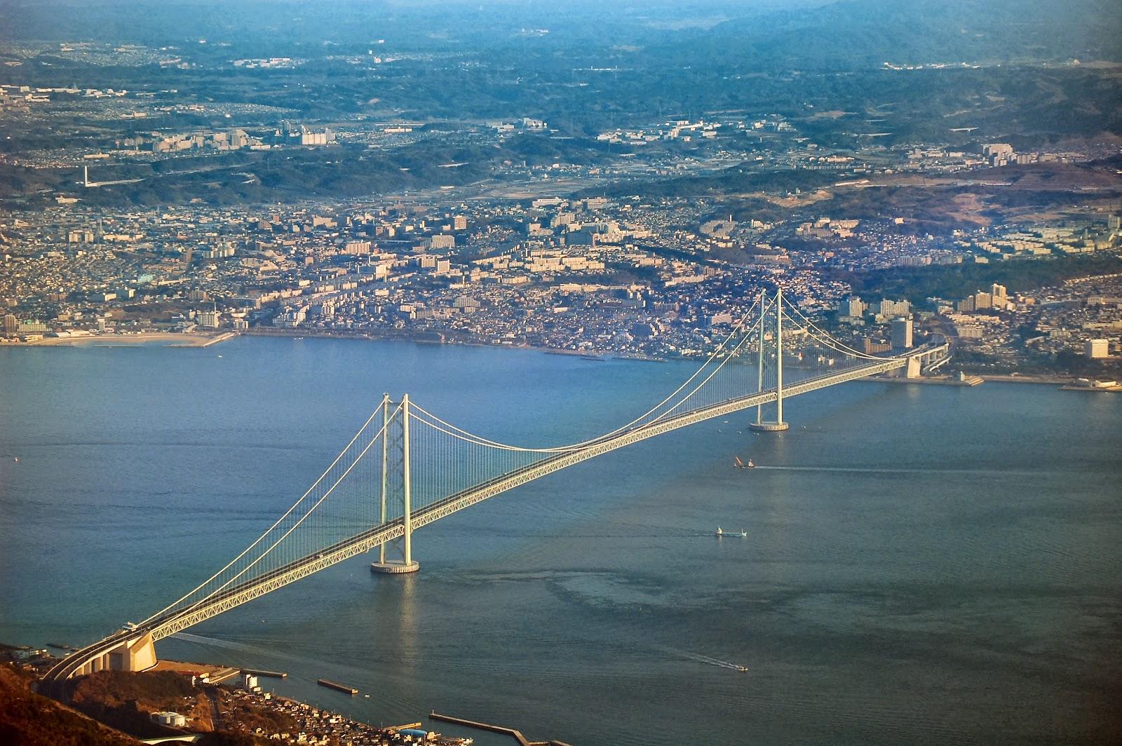 Akashi Kaikyo Bridge image: Wikipedia