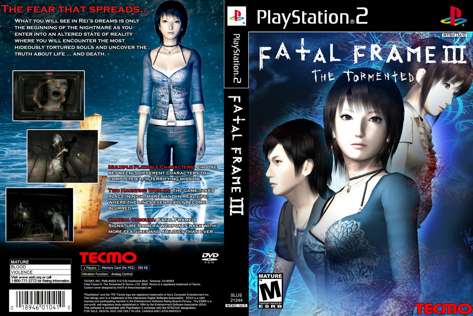 coins Torrent: Download Fatal Frame 3: The Tormented - game PS2 Torrent
