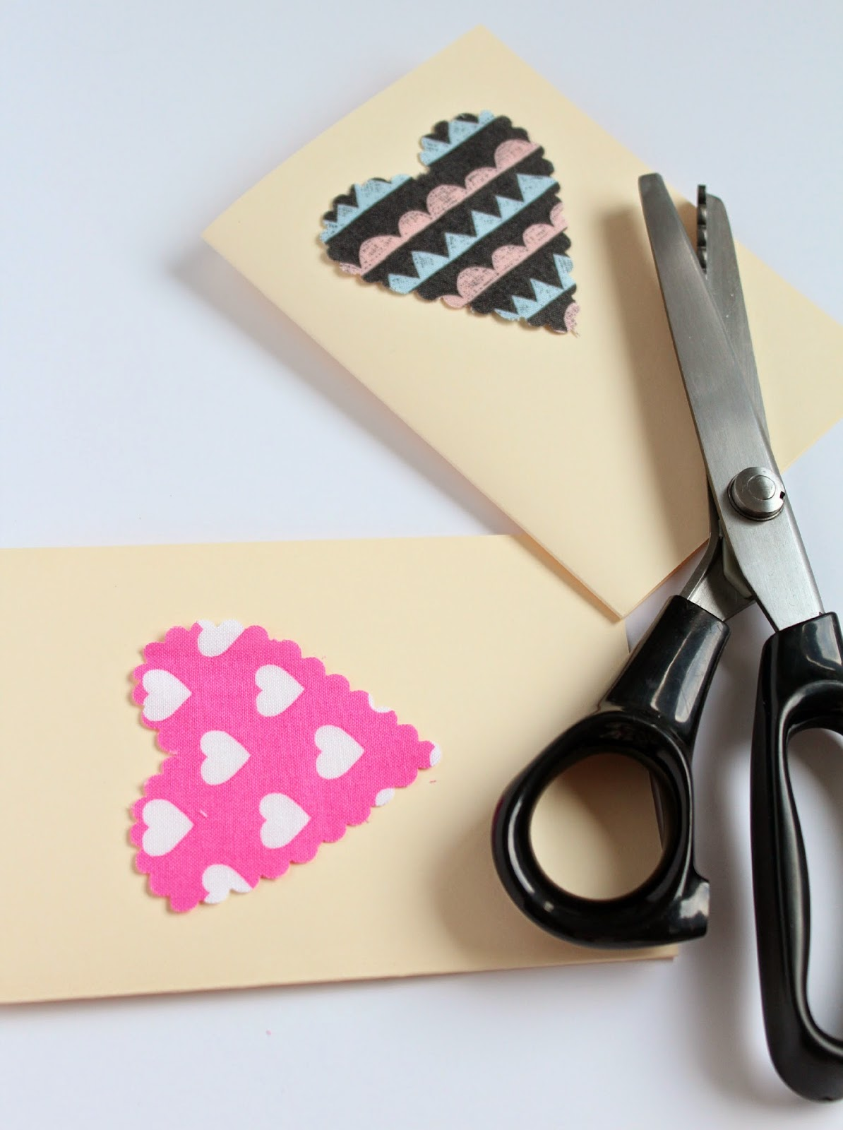 Image result for diy fabric valentine card