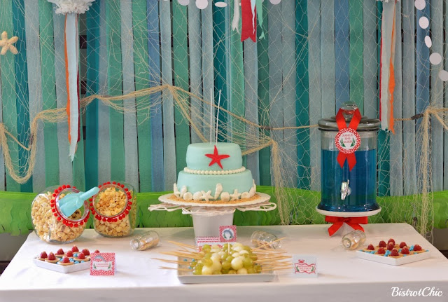 Under the Sea Party by Bistrotchic