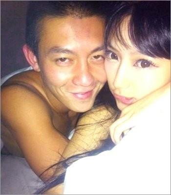 Foto Mesra Cammi Tse dengan Edison Chen