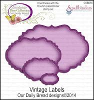 Our Daily Bread designs Custom Vintage Labels Dies
