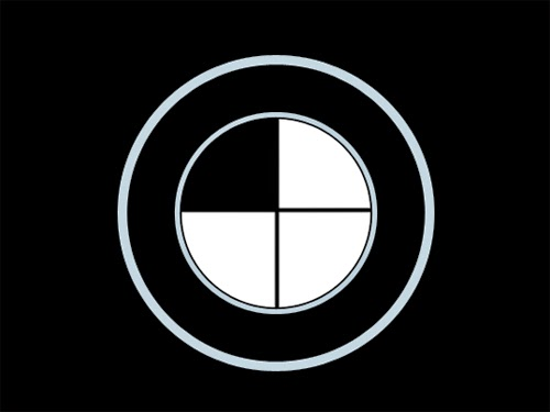 Photoshop Tutorial : Create Logo BMW in Photoshop
