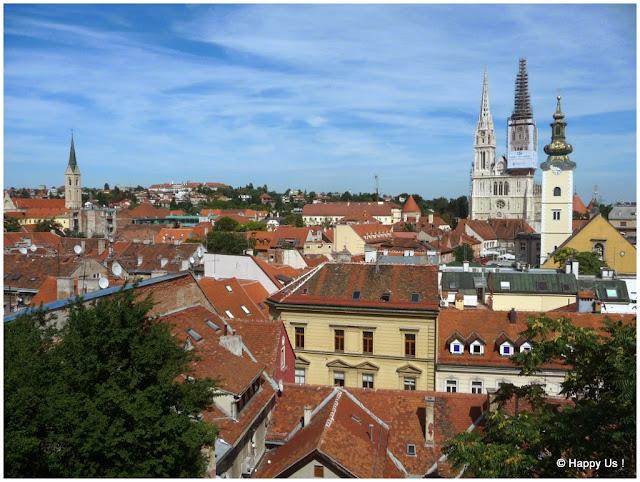 Zagreb - vue de la ville