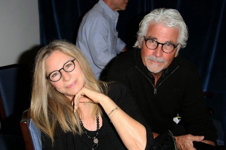 The 72-year-old posed so romantically with James Brolin.