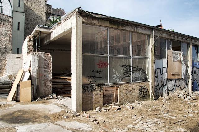 Baustelle Sanierung und Aufstockung, Neubau, Lindower Straße 21, 13347 Berlin, 23.04.2014